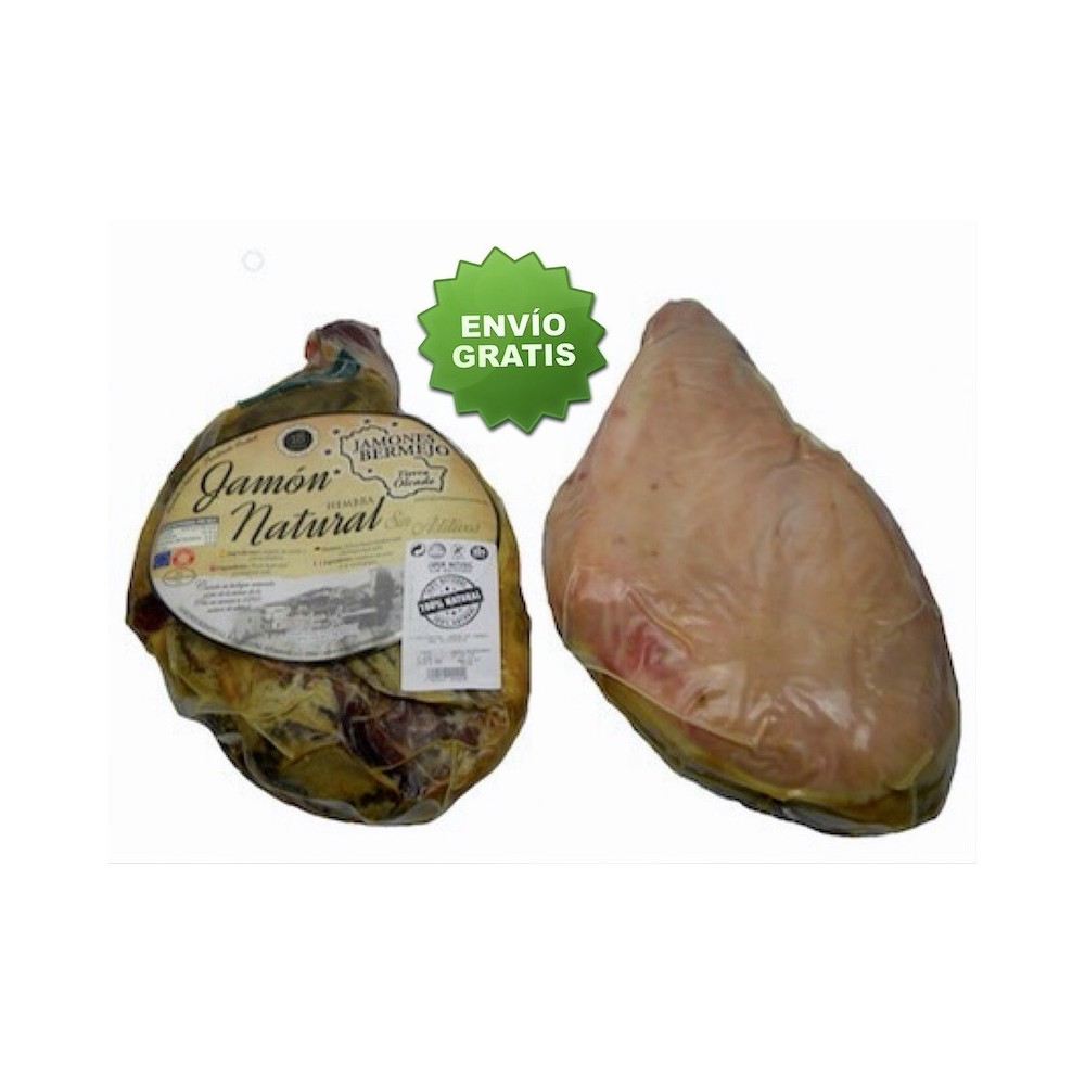 BONELLES SPANISH NATURAL HAM VACUUM PACK