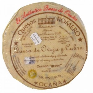 MANCHEGO CHEESE FROM OCAÑA